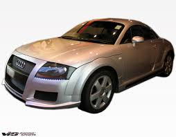 2001 audi tt front bumper cover 2000 2006 audi tt 2dr tech front bumper vis racing sports inc
