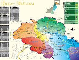 Hindu Kush Map Hunza Adventure Tours Pakistan About Gilgit Baltistan