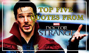thor film quotes top five quotes from marvel s doctor strange sleeping geeks