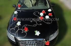 kit deco voiture mariage décoration voiture mariage 120 idées tulle décorations de mariage