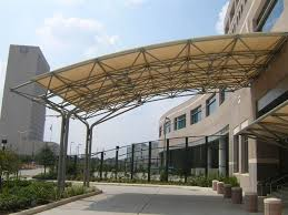 Steel Canopy Frame by Entrances Displays Triodetic Com