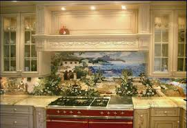 pictures of backsplashes for kitchens custom kitchen mural backsplash mosaics by vita mosaic inc