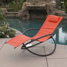 Patio Recliner Lounge Chair Zero Gravity Chairs Of 2 Lounge Patio Outdoor Yard Recliner