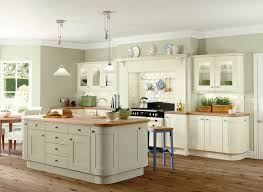 english country kitchen design pentagon big window nature scenery view kitchen design reclaimed