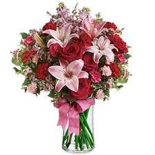 Bouquet Of Lilies Bouquet Of Lilies And Roses Any Color
