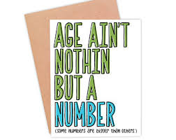 funny getting old birthday card funny body parts card