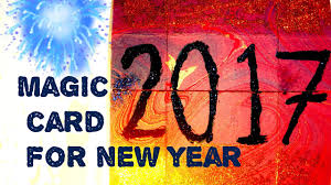 card for new year diy crafts how to make magic card for new year new year card