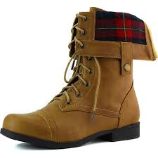 s fold combat boots size 12 bumper s fold plaid cuff combat up boots color