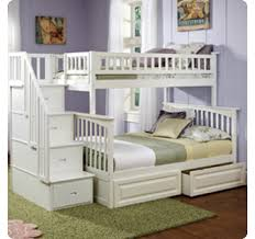 Twin Beds With Drawers Columbia Bunk Bed Twin Over Twin With Two Raised Panel Bed Drawers