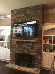 Mounting Tv Over Brick Fireplace by Fireplace Tv Mount Tv Wall Mounting Installation Tv Above