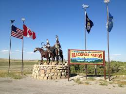 Blackfoot Indian Flag Chief Of Blackfeet Nation Calls On President Obama To End Oil