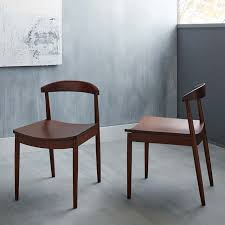 Lena MidCentury Dining Chair West Elm - Mid century dining room chairs