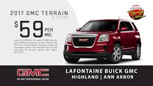 Leverette Home Design Center Reviews Lafontaine Buick Gmc Of Ann Arbor Terrain Lease Special May