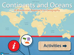 Blank Map Of Continents And Oceans by World Continents And Oceans Youtube