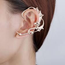 cuff earings wrap around earrings ear wraps gold