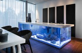 cooking islands for kitchens turn your kitchen into oceanic with aquarium cooking island