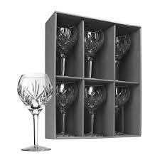 waterford heritage eve wine glasses set of 6 waterford crystal