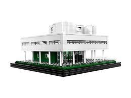Villa Savoye Floor Plan Villa Savoye 21014 Architecture Lego Shop
