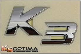 Kia Mobis K5 Optima Store Kia Mobis Oem K3 K5 K7 Emblem Sets