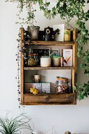 rustic wooden shelf kitchen or bathroom lobster and swan