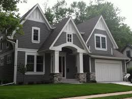 Ranch Style Home Decor Gray Houses With White Trim Exterior House Colors For Ranch Style