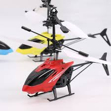 2017 infrared induction helicopter toy for kids red in novelty