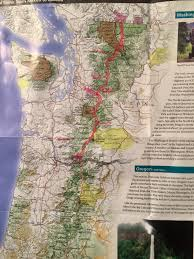 Pct Oregon Map by Hikers Without Borders Dr Doolittle U0026 Sherpa Shannon U0027s Journey