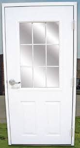 Prehung Exterior Door Steel Doors For Metal Buildings Prehung Utility Service Doors