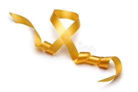 gold satin ribbon gold satin ribbon stock photo image of christmas 25255014