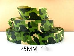 camouflage ribbon metre army camouflage ribbon size inch bows headbands birthday
