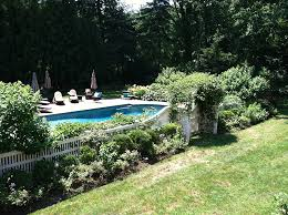 Landscaping Around Pool Harrison Residence Pool Vernon Hills Landscaping Corp