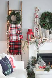 Brylane Home Christmas Decorations 25 Farmhouse Inspired Christmas Decor Ideas Plaid Blanket And