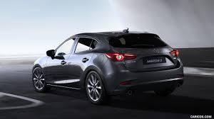 mazda 3 hatchback 2017 mazda 3 5 door hatchback color machine grey rear three