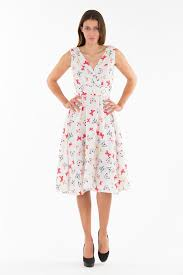 anmol diya vintage retro 50 s rockabilly swing dress butterfly