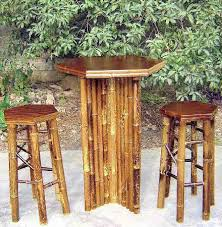 Tiki Outdoor Furniture by Bamboo Bar U0026 Bistro Table