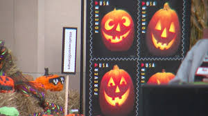 anoka hosts national halloween stamp event wcco cbs minnesota