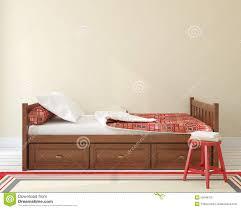 chambre a coucher enfants chambre à coucher pour l enfant illustration stock illustration du
