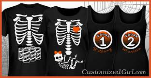 matching halloween costume shirts for you and your friends