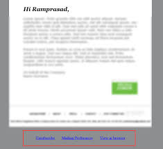 use your own custom html to design email template leadsquared