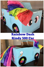 pink kid car diy cardboard box car for a drive in movie night black paper