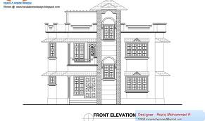 Elevation Floor Plan 27 Cool Elevation Of House Plan Building Plans Online 76448