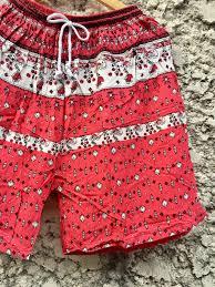 shorts floral prints boho unisex festival summer clothes