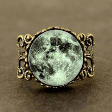 green rings images 2017 new trendy green moon ring round full moon jewelry space ring jpg