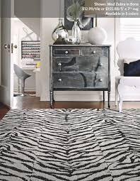 Zebra Area Rug Zebra Print Area Rug Bedroom Windigoturbines Zebra Print Area