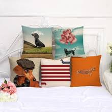 dachshund pillow cover promotion shop for promotional dachshund