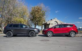 jeep ford jeep cherokee trailhawk vs ford escape city mouse or country