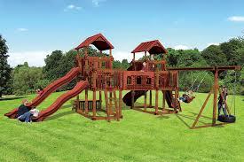 rl 1 adventure best kids backyard playset swing kingdom