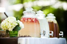 Backyard Parties How To Create A Beautiful Drink Station For Your Backyard Party