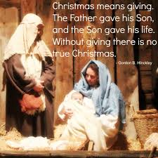 quotes christmas not being presents be the lord u0027s agent for christmas our gift to him the returned