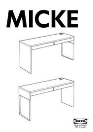 how to assemble ikea desk ikea micke desk 55x19 furniture download user guide for free 53a3